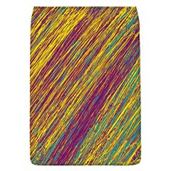 Yellow, purple and green Van Gogh pattern Flap Covers (L)