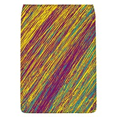 Yellow, purple and green Van Gogh pattern Flap Covers (S)