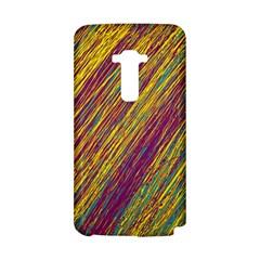 Yellow, purple and green Van Gogh pattern LG G Flex