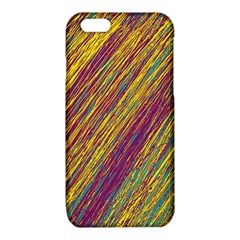 Yellow, purple and green Van Gogh pattern iPhone 6/6S TPU Case