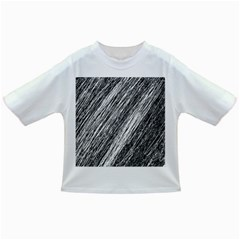 Black and White decorative pattern Infant/Toddler T-Shirts