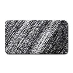 Black and White decorative pattern Medium Bar Mats