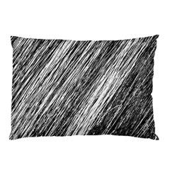 Black and White decorative pattern Pillow Case