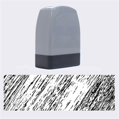 Black and White decorative pattern Name Stamps