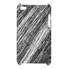 Black and White decorative pattern Apple iPod Touch 4