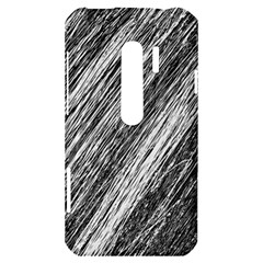 Black and White decorative pattern HTC Evo 3D Hardshell Case