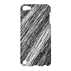 Black and White decorative pattern Apple iPod Touch 5 Hardshell Case