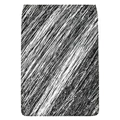 Black and White decorative pattern Flap Covers (S)