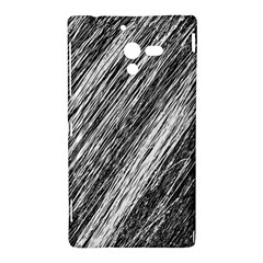 Black and White decorative pattern Sony Xperia ZL (L35H)