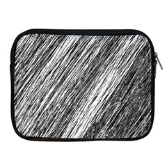 Black and White decorative pattern Apple iPad 2/3/4 Zipper Cases