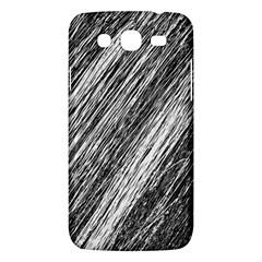 Black and White decorative pattern Samsung Galaxy Mega 5.8 I9152 Hardshell Case