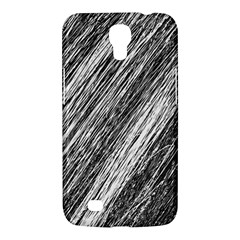 Black and White decorative pattern Samsung Galaxy Mega 6.3  I9200 Hardshell Case