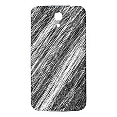 Black and White decorative pattern Samsung Galaxy Mega I9200 Hardshell Back Case