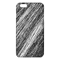 Black and White decorative pattern iPhone 6 Plus/6S Plus TPU Case