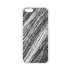 Black and White decorative pattern Apple Seamless iPhone 6/6S Case (Transparent)