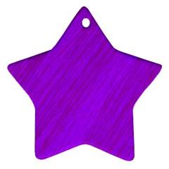 Purple pattern Ornament (Star)