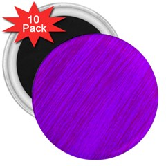 Purple pattern 3  Magnets (10 pack)