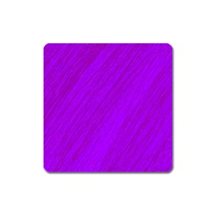 Purple pattern Square Magnet