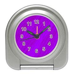 Purple pattern Travel Alarm Clocks