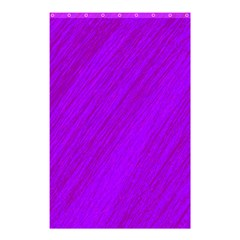Purple pattern Shower Curtain 48  x 72  (Small)