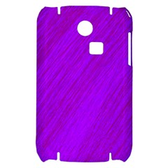Purple pattern Samsung S3350 Hardshell Case