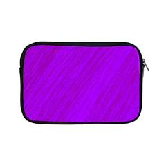 Purple Pattern Apple Ipad Mini Zipper Cases