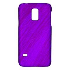 Purple pattern Galaxy S5 Mini