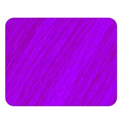 Purple pattern Double Sided Flano Blanket (Large)