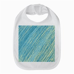 Light blue pattern Bib