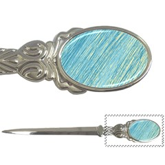 Light blue pattern Letter Openers