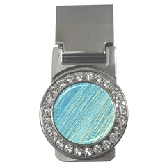 Light blue pattern Money Clips (CZ)