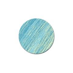 Light blue pattern Golf Ball Marker