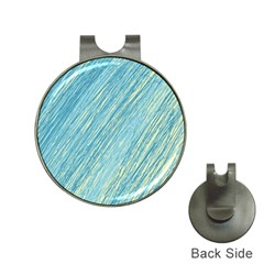 Light blue pattern Hat Clips with Golf Markers
