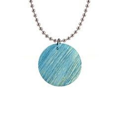 Light blue pattern Button Necklaces