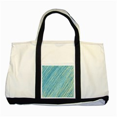 Light blue pattern Two Tone Tote Bag