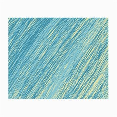 Light blue pattern Small Glasses Cloth (2-Side)
