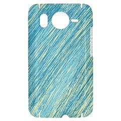 Light blue pattern HTC Desire HD Hardshell Case