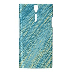 Light blue pattern Sony Xperia S
