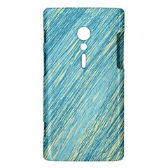 Light blue pattern Sony Xperia ion