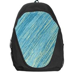 Light blue pattern Backpack Bag