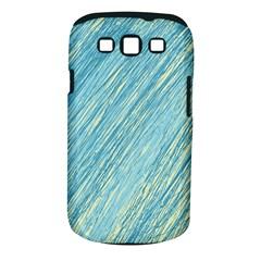 Light blue pattern Samsung Galaxy S III Classic Hardshell Case (PC+Silicone)