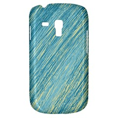 Light blue pattern Samsung Galaxy S3 MINI I8190 Hardshell Case