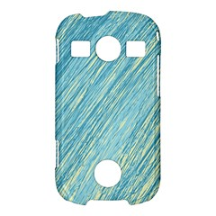 Light blue pattern Samsung Galaxy S7710 Xcover 2 Hardshell Case