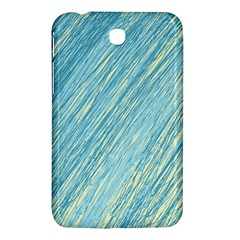 Light blue pattern Samsung Galaxy Tab 3 (7 ) P3200 Hardshell Case