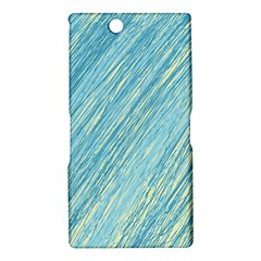 Light blue pattern Sony Xperia Z Ultra