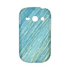 Light blue pattern Samsung Galaxy S6810 Hardshell Case