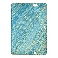 Light blue pattern Kindle Fire HDX 8.9  Hardshell Case