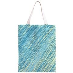 Light blue pattern Classic Light Tote Bag