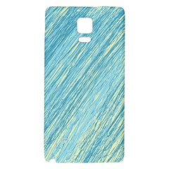Light blue pattern Galaxy Note 4 Back Case