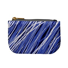 Blue elegant pattern Mini Coin Purses